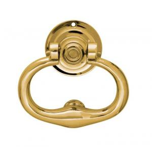 Door Knocker - Round brass