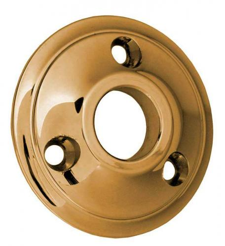 Door Handle Rosette - Sekelskifte brass