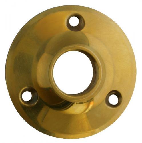 Door Handle Rosette - Låsbolaget 1 brass