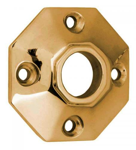 Door Handle Rosette - Albert Karlsson 25 brass