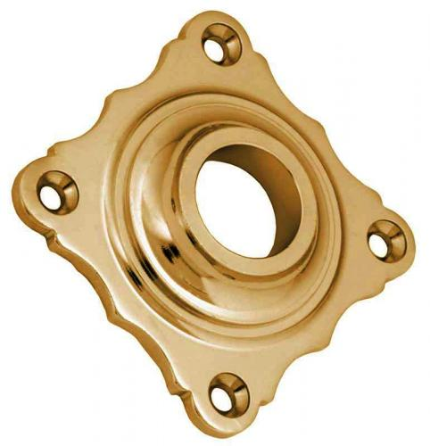 Door Handle Rosette - Næsman 268 brass