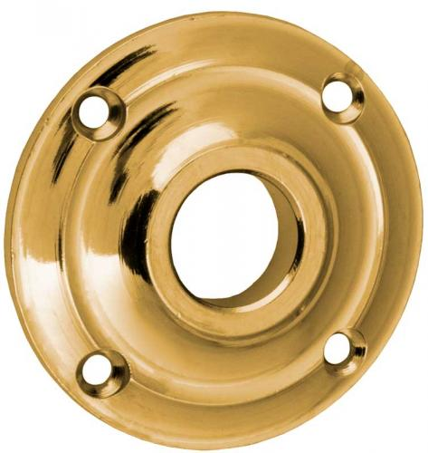 Door Handle Rosette - Næsman 493 brass