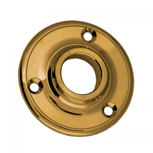 Door Handle Rosette - Næsman 145 brass