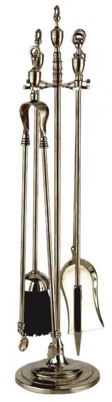 Fire tool set silver - Linnéstaden