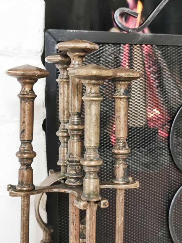 Peissett Antikk messing - Saltsjöbaden - arvestykke - gammeldags dekor - klassisk stil - retro - sekelskifte