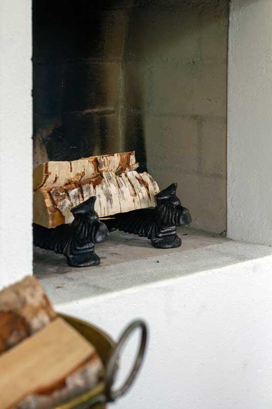 Ildhund / Fotskrape i støpejern - Scottish terrier svart - arvestykke - gammeldags dekor - klassisk stil - retro - sekelskifte
