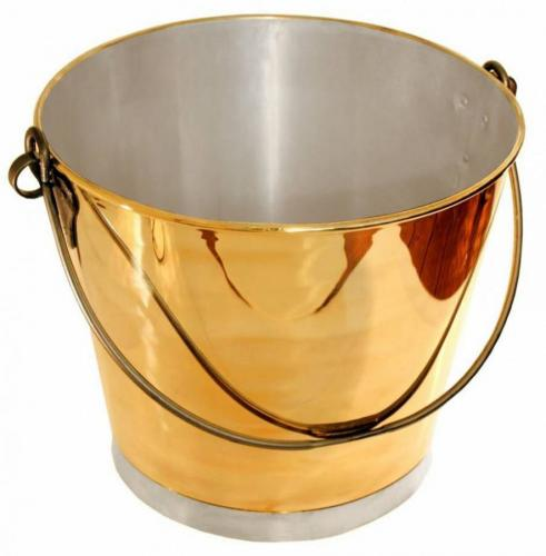 Log bucket - Brass