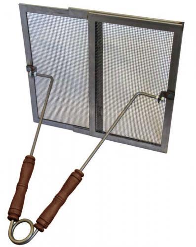 Gnistskydd till kakelugn - Järngaller