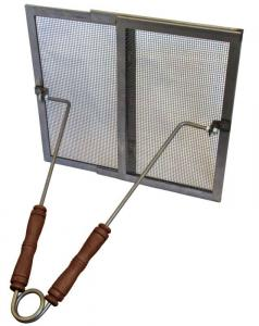 Fire guard for tiled stoves - Iron