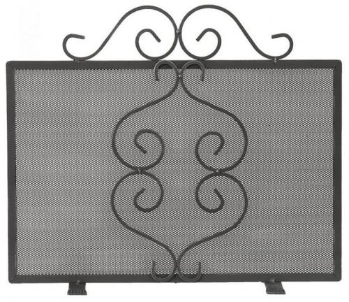 Fire Guard wrought iron - Stuga - old style - vintage style - classic interior - retro