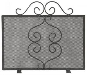 Fire guard wrought iron - Stuga