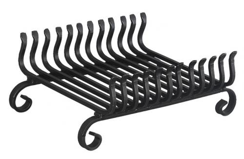 Wood Grate - Wrought iron - old style - vintage style - classic interior - retro