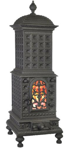Cast Iron Stove - Royal Viking - old style - vintage style - classic interior - retro