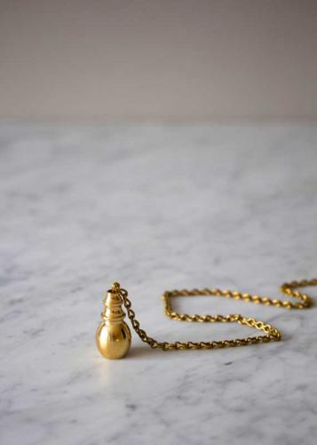 Damper tassel drop - Brass