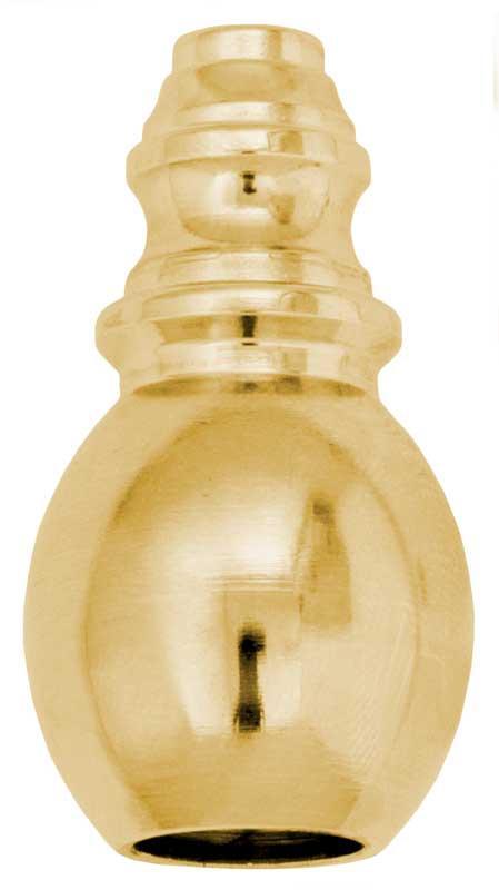Old style damper tassel drop - Brass