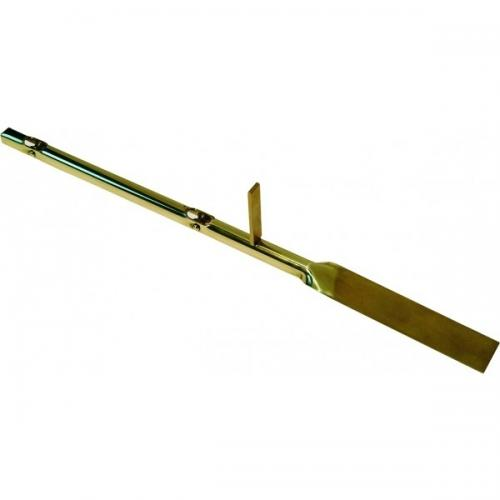 Damper conductor for tiled oven - Brass