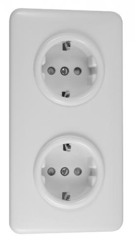 Double outlet - Duroplast