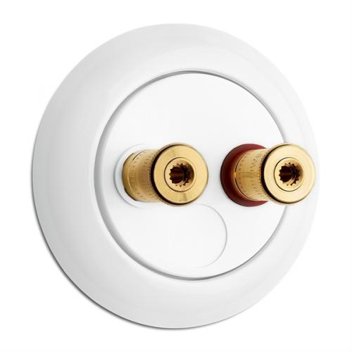 Speaker wall socket - Porcelain WBT