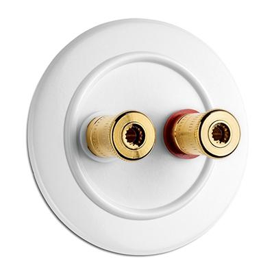 Speaker wall socket - Duroplast WBT