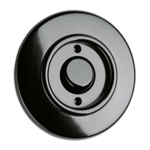 Switch round bakelite - Push-dimmer
