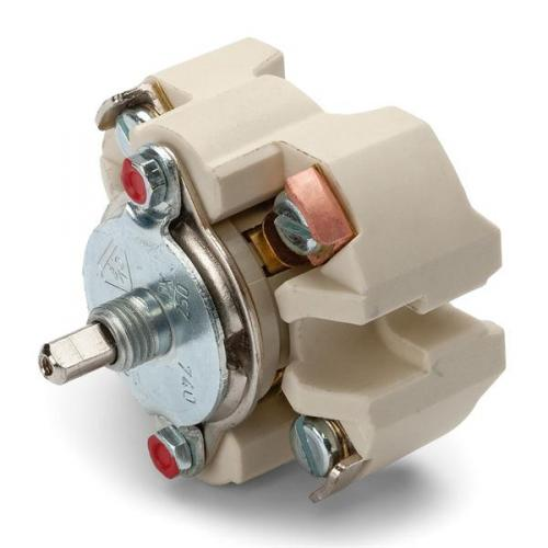Switch round porcelain - Rotary switch multi-circuit