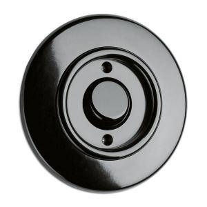 Control switch 1-pole round bakelite - toggle switch