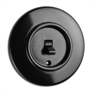 Switch round bakelite - Toggle switch alternation - old style - vintage style - retro - classic interior