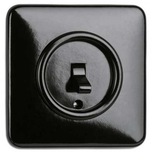Switch square bakelite - Toggle switch alternation