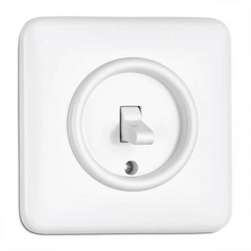 Switch square duroplast - Toggle switch alternation