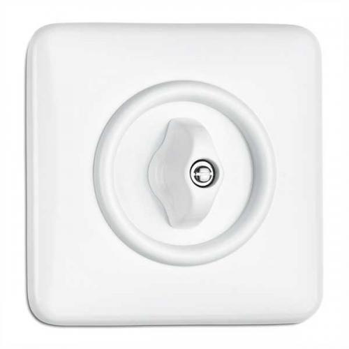 Switch square duroplast - Rotary switch alternation