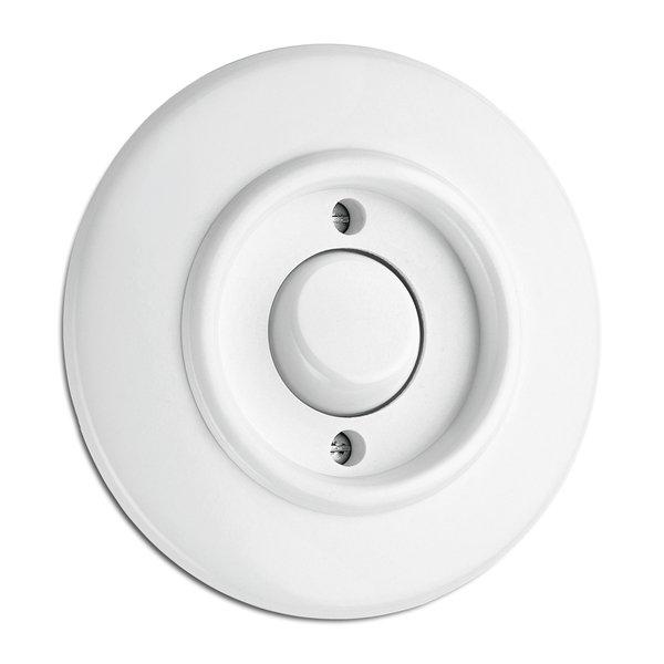 Switch round duroplast - Push-dimmer