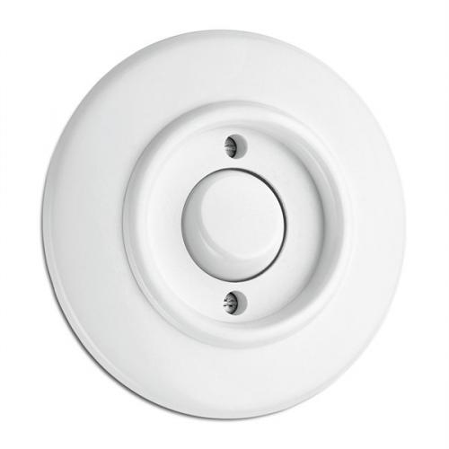 Switch round duroplast - Push-dimmer - old style - vintage style - retro - classic interior