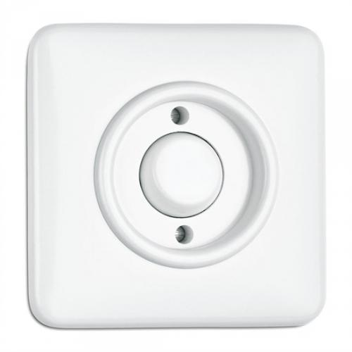Switch square duroplast - Push-dimmer - old style - vintage style - retro - classic interior