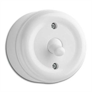 Surface mounted toggle switch alternation duroplast - retro - old style - vintage interior - oldschool