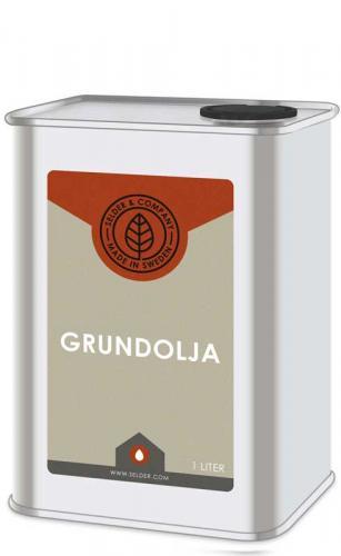 Linolja - Grundolja universal 1 L - sekelskifte - gammaldags inredning - retro - klassisk stil