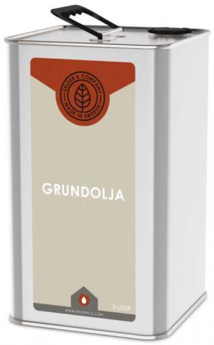 Linolja - Grundolja universal 5 L - sekelskiftesstil - gammaldags inredning - retro - gammal stil - klassisk inredning