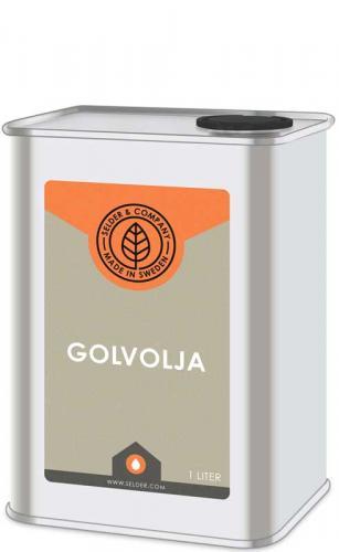 Linolja - Golvolja ädel 1 L - sekelskifte - gammaldags inredning - retro - klassisk stil