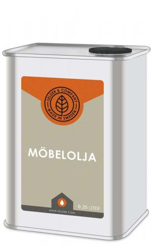 Linolja - Möbelolja ädel 0,25 L