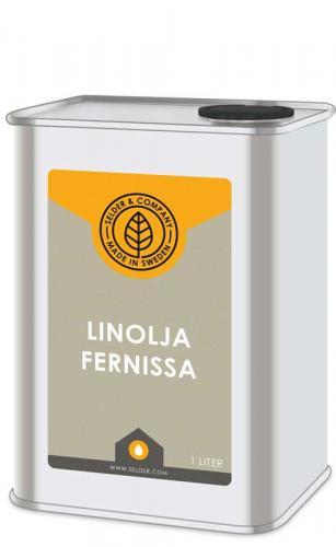 Linolja - Fernissa 1 L - sekelskifte - gammaldags inredning - retro - klassisk stil