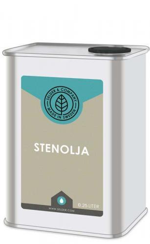 Linolja - Stenolja porös 0,25 L