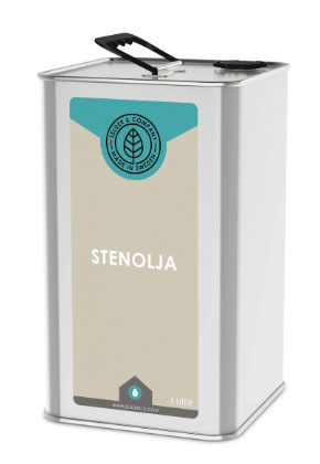 Linolja - Stenolja porös 5 L