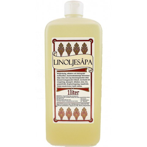 Linseed Oil Soap - Almond 1 L