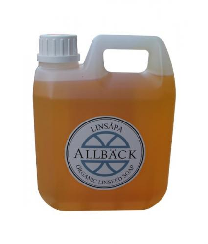 Linseed Soap - Allbäck 1 L