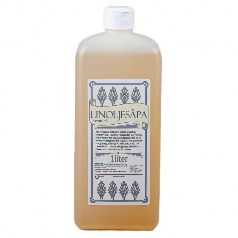 Linoljesåpa - Lavendeldoft 1 L