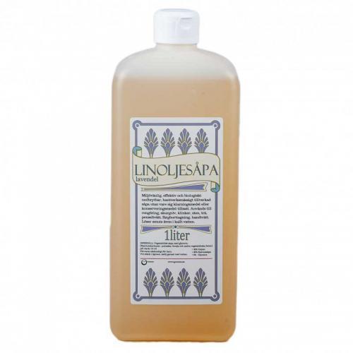 Linoljesåpe - Lavendelduft 1 L