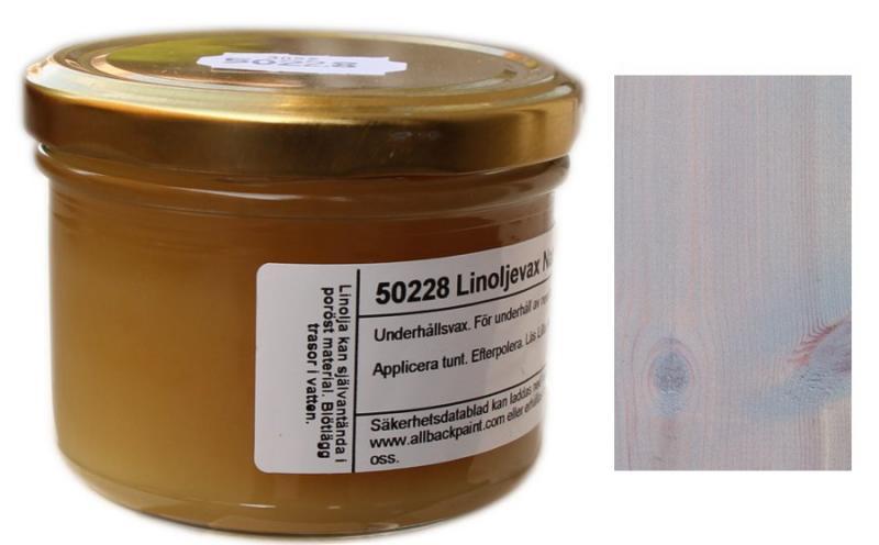 Linseed Oil Wax Allbäck - Grey