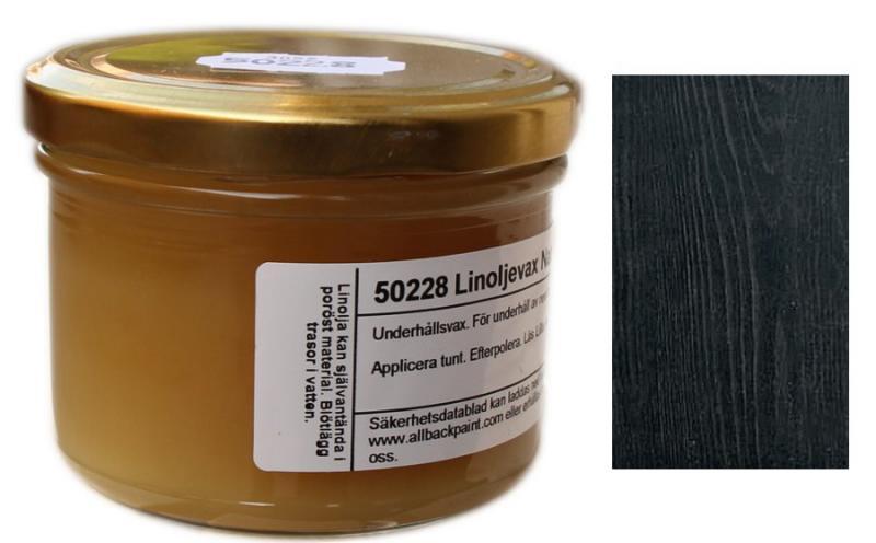 Linoljevax - svart - sekelskifte - gammaldags inredning - retro - klassisk stil