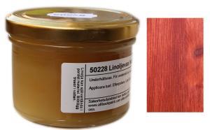 Linoljevax - Röd - sekelskifte - gammaldags inredning - retro - klassisk stil