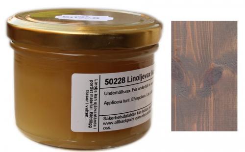 Linoljevax - Mullvadsgrå - sekelskifte - gammaldags inredning - retro - klassisk stil