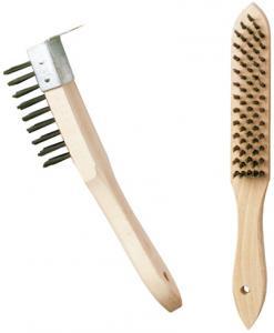 Steel brush - 4 rows